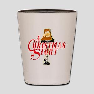 A Christmas Story with Leg Lamp Shot Glass