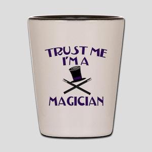 Trust Me I'm a Magician Shot Glass