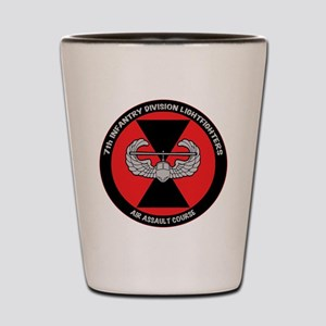 7th ID Air Assault Shot Glass