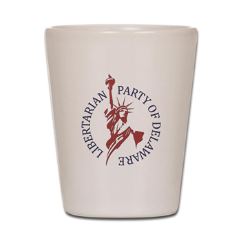 Lpd Logo Shot Glass