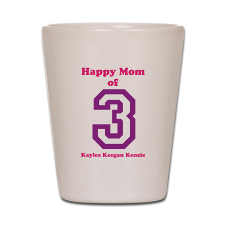 Personalized Mother Shot Glass
