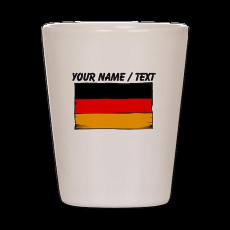 Custom Germany Flag Shot Glass