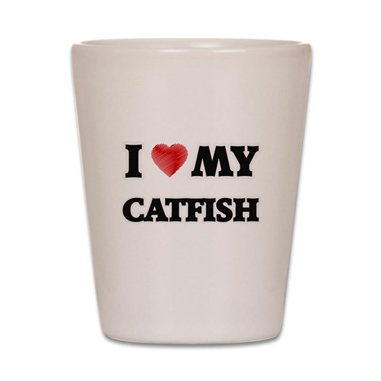 I Love My Catfish food design