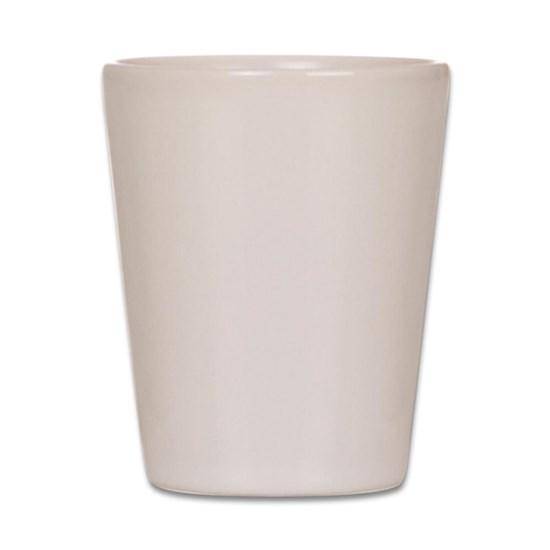 Can't See Line Russ Shot Glass