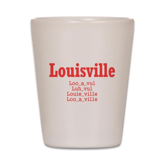 Shooting In Louisville Colorado: Louisville Shot Glass By Paducah