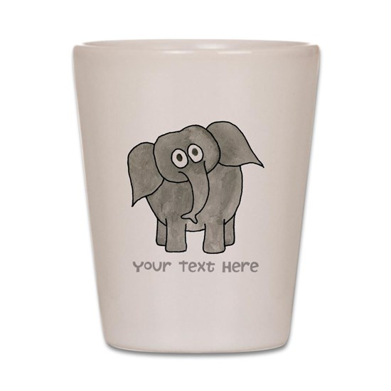 Elephant. Custom Text.