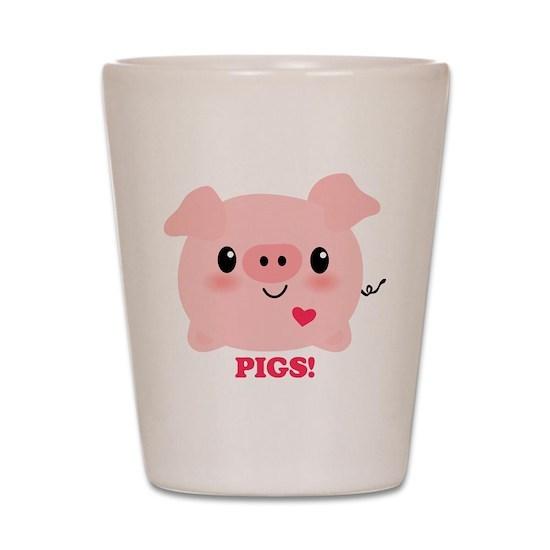 Kawaii I Love Pigs