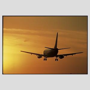 Passenger Plane Taking Off LAX Airport Los Angeles