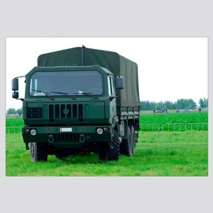 The Iveco M250 8 ton truck of the Belgian Army