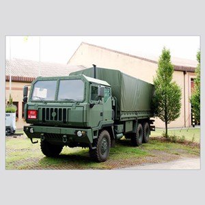The Iveco M250 8 ton truck used by the Belgian Arm