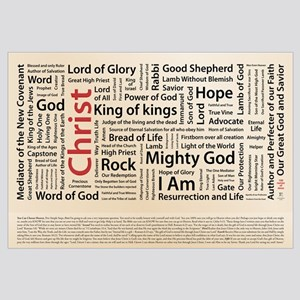 100 names of Jesus - American Spelling