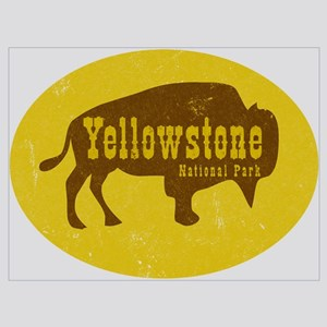 Yellowstone Bison Decal