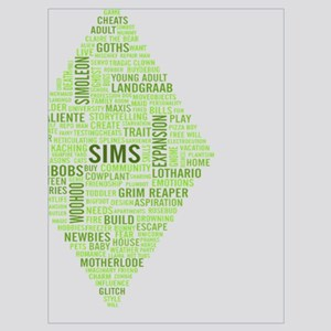 The Sims 3 Wall Art - CafePress