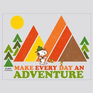Snoopy-Make Every Day An Adventure Wall Art