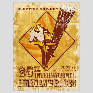 power lineman electrician Wall Art