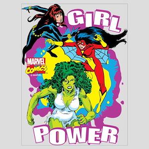 Marvel Comics Girl Power Wall Art