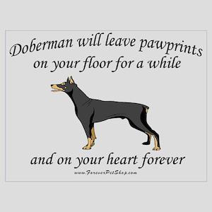 Doberman Pawprints