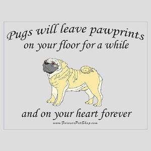 Pug Pawprints