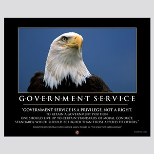 Government Service 16x20