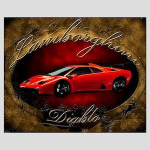 Red Lamborghini Diablo
