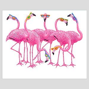 Cool Flamingoes Wall Art