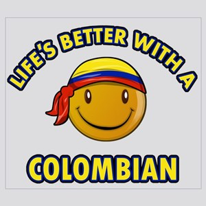 Life's better with a Columbian Wall Art