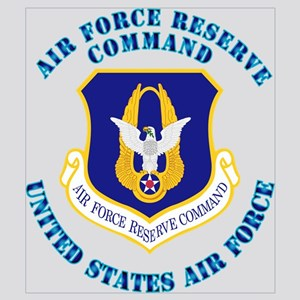 Air Force Reserve Cmd with Text Wall Art