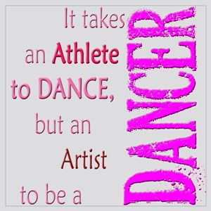 Artist Athlete Dancer