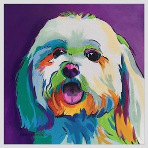 Dash the Pop Art Dog