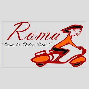 ROME SCOTTER GIRL