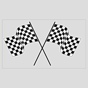 racing car flags