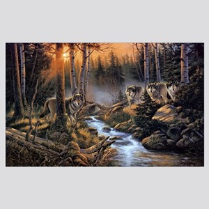 Forest Wolves Wall Art