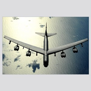 A B52 Stratofortress in flight over the Pacific Oc