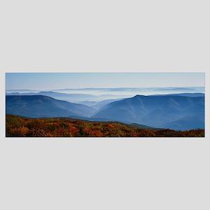 Fog over hills, Dolly Sods Wilderness, Monongahela
