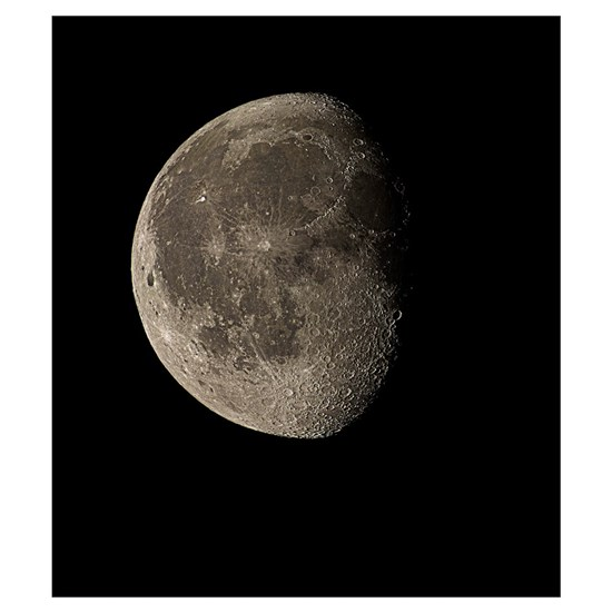 Waning Gibbous Moon By Science Photo Library Cafepress