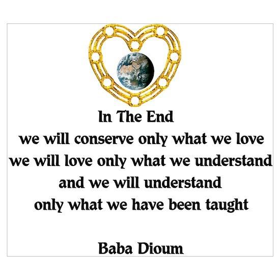 Baba Dioum Quote By Crazyassbear Cafepress