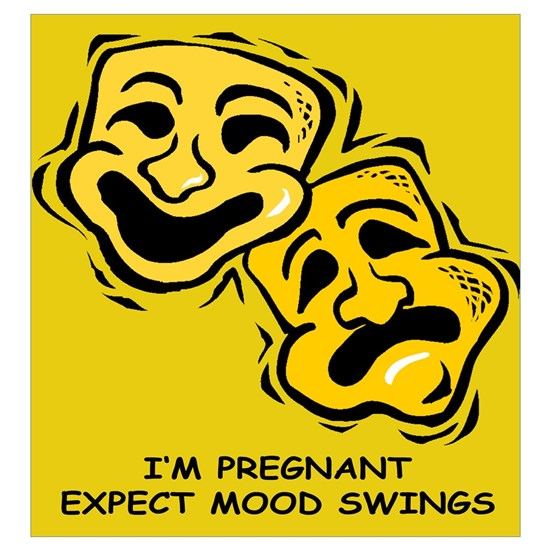 I M Pregnant Expect Mood Swings