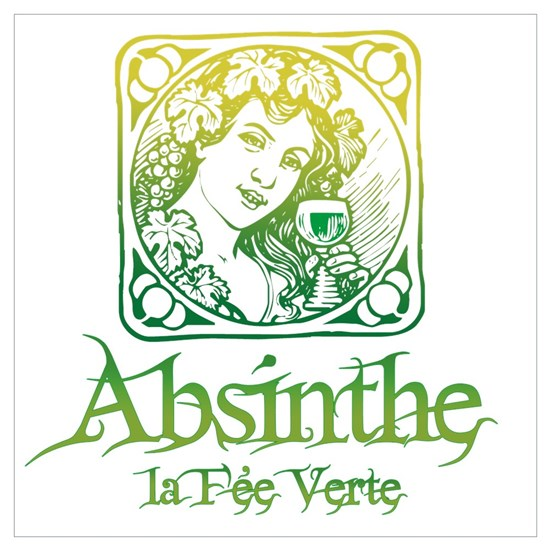Absinthe Fairy Vintage By Timewarp Cafepress