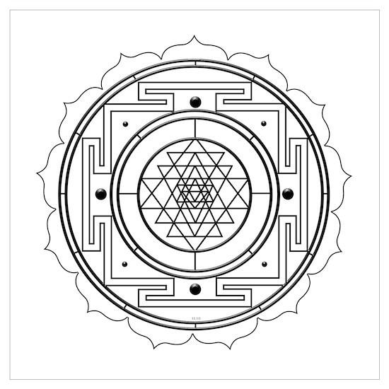 Sri Yantra Design