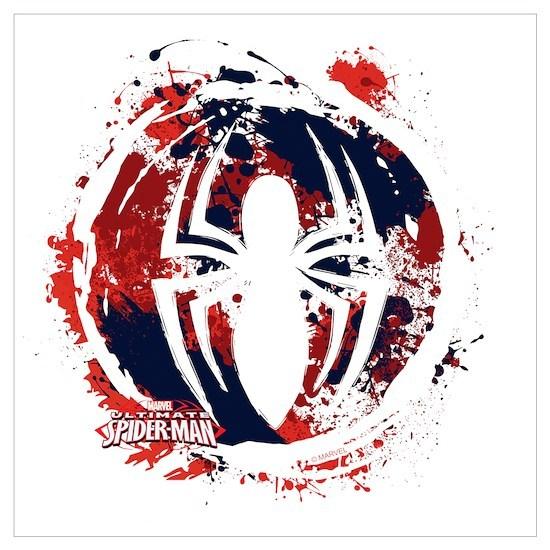 Spiderman Paint Wall Art