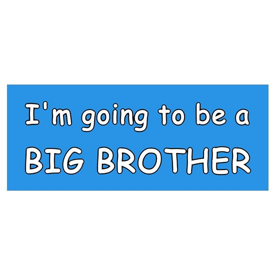 big brother blueIm going to be a bib brother