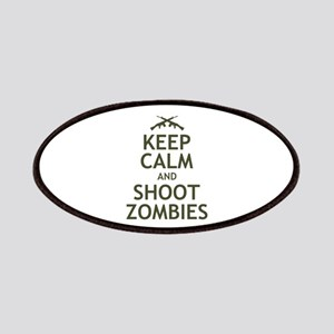 Keep Calm and Shoot Zombies Patches