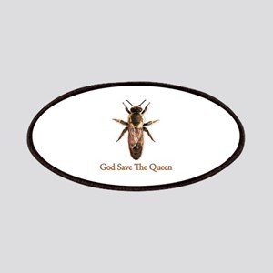God Save the Queen (bee) Patches