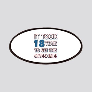 18 Year Old birthday gift ideas Patches