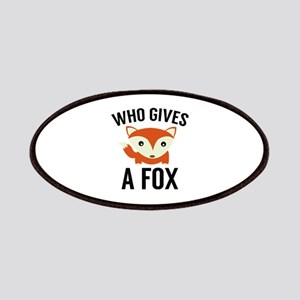 Who Gives A Fox Patches