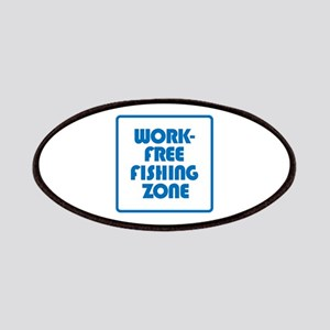 Work Free Fishing Zone Patch