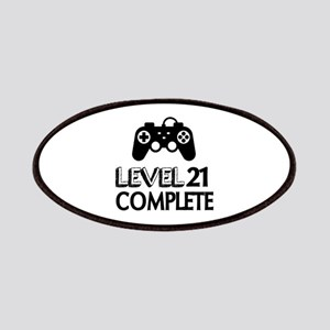 Level 21 Complete Birthday Designs Patch