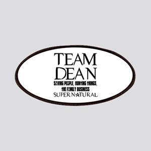Team Dean Supernatural Winchester Patches