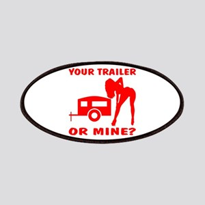 Your Trailer Or Mine? Patches