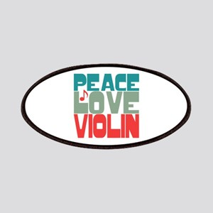 Peace Love Violin Patches